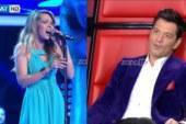 The Voice: Η συγκλονιστική ερμηνεία της Μηλιώνη και το παράπονο του Σάκη Ρουβά!