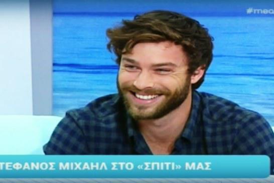 """Στέφανος Μιχαήλ: «""""Έμεινα"""" όταν μου έδωσε ο Αντρέας Γεωργίου το ρόλο του Αλέξανδρου στο Τατουάζ»"""