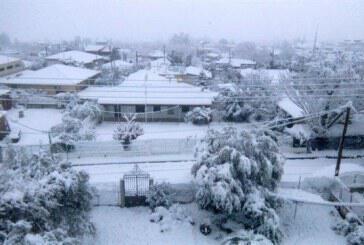 Καιρός: Νέο κύμα κακοκαιρίας με χιόνια και «τσουχτερό» κρύο (video)