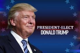 Νέος πρόεδρος των ΗΠΑ ο Ντόναλντ Τραμπ!