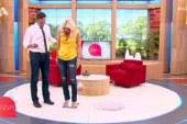 Η Ελένη Μενεγάκη ζυγίστηκε on air! – Πόσα κιλά είναι; (video)