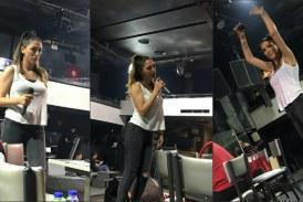 Βασιλική Νταντά: Εντατικές πρόβες πριν την πρεμιέρα της στο Frangelico