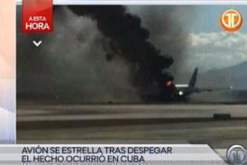 Συνετρίβη αεροσκάφος στην Κούβα με 100 επιβάτες
